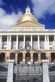 State Capitol of Massachusetts, Stock Photo