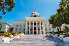 State capitol in Montgomery, Alabama Stock Photos