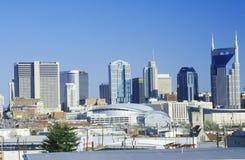 State capitol Nashville, TN skyline Stock Images