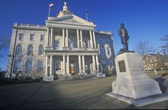 State Capitol of New Hampshire, Royalty Free Stock Photo