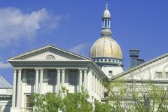 State Capitol of New Jersey Royalty Free Stock Image