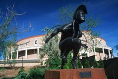 State Capitol of New Mexico royalty free stock image