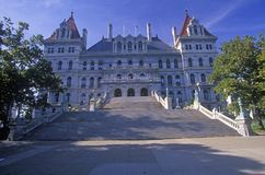 State Capitol of New York Royalty Free Stock Photo