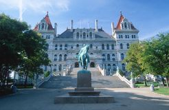 State Capitol of New York Stock Images