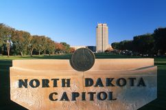 State Capitol of North Dakota, Bismarck Stock Photos