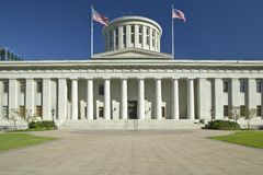 State Capitol of Ohio, royalty free stock photo