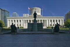 State Capitol of Ohio,. Columbus Royalty Free Stock Images