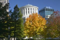 State Capitol of Ohio Stock Photo