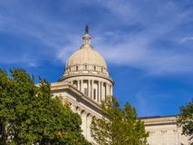 The State Capitol of Oklahoma in Oklahoma City. USA 2017 Stock Photography