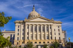 The State Capitol of Oklahoma in Oklahoma City. USA 2017 Royalty Free Stock Image