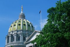 State Capitol of Pennsylvania, Stock Image
