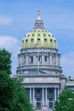 State Capitol of Pennsylvania Stock Images