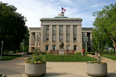State Capitol, Raleigh. State capitol building, North Carolina Stock Photography