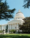 State Capitol, Sacramento, California Royalty Free Stock Images