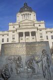 State Capitol of South Dakota Royalty Free Stock Image