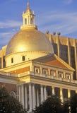 State Capitol at Sunset, Boston, Massachusetts Stock Images
