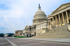 State Capitol. The United States Capitol is the meeting place of the United States Congress, the legislature of the U.S. federal government Royalty Free Stock Photos
