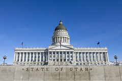State Capitol of Utah Stock Photography