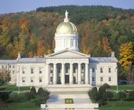 State Capitol of Vermont Stock Image