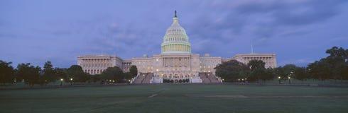 State Capitol of Washington at dusk Stock Photo