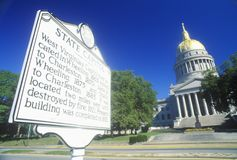 State Capitol of West Virginia, Royalty Free Stock Photography