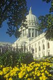 State Capitol of Wisconsin Stock Photography