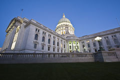 State Capitol of Wisconsin Stock Image