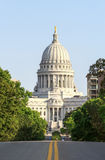 State Capitol of Wisconsin in Madison Stock Photography