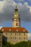 State castle Cesky Krumlov. State castle named Cesky Krumlov in Czech Republic (Eastern Europe Stock Photos