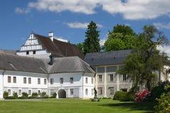 State castle Velke Losiny with park (Czech Republic) Stock Photo