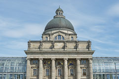 The state chancellery of Munich in Bavaria Royalty Free Stock Photo