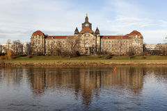 State Chancellery of Saxony. Dresden. Germany. Stock Photography