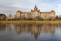 State Chancellery of Saxony. Dresden. Germany. Stock Photo
