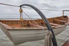 Life boat on sailing ship Royalty Free Stock Photo