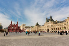 State department store GUM, Red square, Moscow, Russia Stock Photo