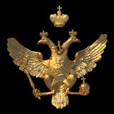State emblem of the Russia Royalty Free Stock Photo