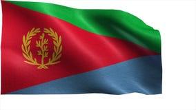 State of Eritrea, Flag of Eritrea - seamless LOOP royalty free illustration