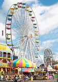 State fair. Midway rides at the new york state fair, held annually in syracuse, new york, august,2011 Stock Image