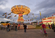 State Fair. A scene from the North Carolina Mountain State Fair royalty free stock photos