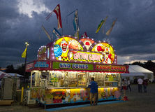 State Fair. A concession vender at the North Carolina Mountain State Fair Royalty Free Stock Photos
