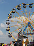 State Fair Carnival. Ferris wheel at the state fair carnival Royalty Free Stock Photography
