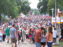State Fair Crowd Stock Photography