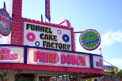State Fair fried foods Stock Image