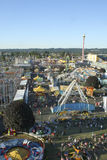 State Fair Grounds from above Royalty Free Stock Image