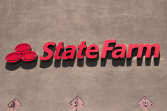 State Farm augmente le Deductible Image libre de droits