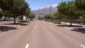 State Farm Stadium, Glendale, Arizona. Glendale, Arizona /Usa 6/14/2019: State Farm Stadium, Glendale, Arizona is the venue for  the Concacaf Gold Cup Semifinals stock footage