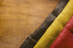 State flag of Belgium Royalty Free Stock Photography