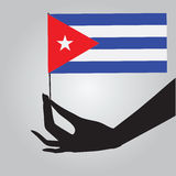 State flag of Cuba Stock Photo