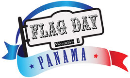 State Flag Day Panama Stock Photos
