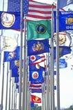 State Flag of Iowa Royalty Free Stock Photo